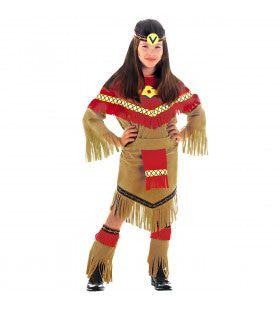 Chief Indiaanse Ray Of Moonlight Kostuum Meisje