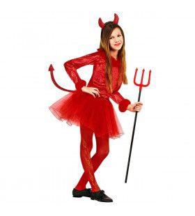 Duivels Meisje Dancing Devil Kostuum