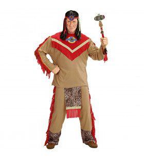Chief Indiaan Raging Bull Kostuum Man