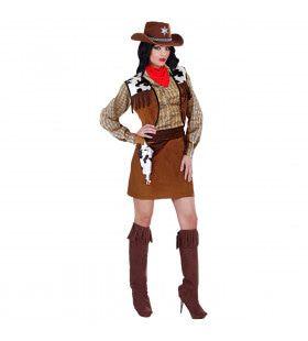 Western Cow-Girl Bandolera Kostuum Vrouw