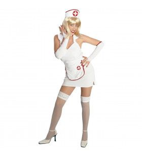 Sexy Verpleegster Lightheart Kostuum Vrouw