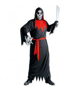 Evil Phantom Kind Rode Duivel Kostuum Jongen