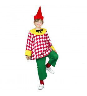 Kleurrijk Pinokkio Kostuum Jongen