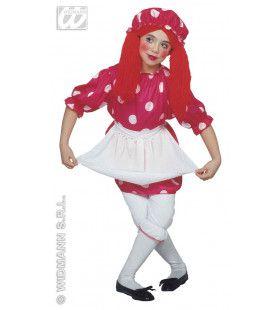 Kleine Pop Dancing Puppet Kostuum Meisje
