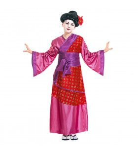 China Girl Queen Of Geishas Kostuum Meisje