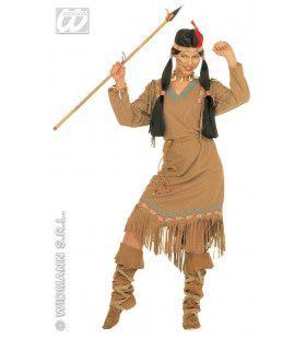 Indiaanse Cheyenne Kostuum Vrouw