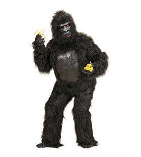 Brullende Pluche Gorilla Kostuum Man