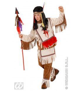 Indiaanse Jongen Luxe Vredespijp Kostuum