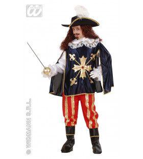 Franse Musketier Jongen Kostuum
