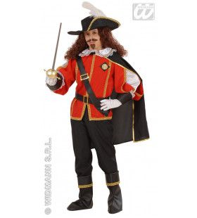 Musketier D Artagnan Jongen Kostuum