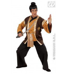 Samurai Krijger Sumimasen Kostuum Man