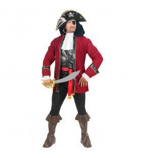 Piraat Roofeiland Captain Kirk Kostuum Man