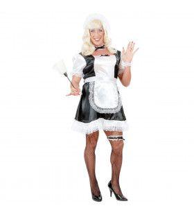 Travestiet Kamermeisje Heer XL Kostuum Man