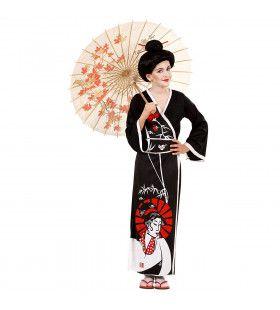 Traditionele Geisha Kostuum Meisje