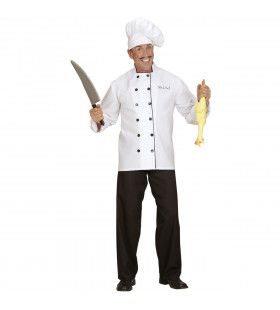 Traditionele Chef Kok Man Kostuum