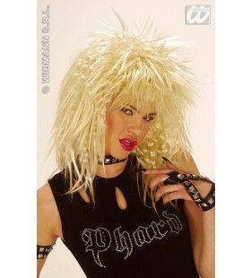 Glam-Rock Pruik, Rockster Blond
