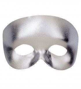 Klassiek Oogmasker Fantoom, Zilver