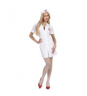 Keurige Verpleegster Kostuum Vrouw