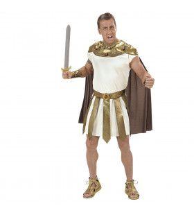 Strijdbare Romeinse God Kostuum Man