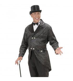 Stijlvolle Frackjas Glitter Man Kostuum