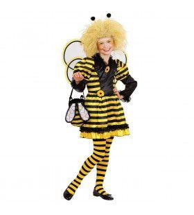 Bijtje Geel Zwart Kostuum Meisje