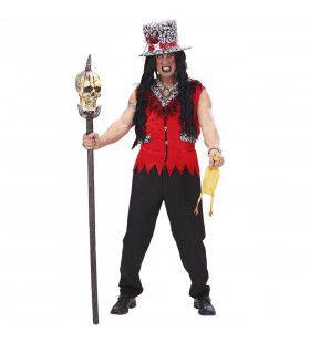 Funky Voodoo Priester Kostuum Man