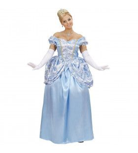 Blauwe Prinses Sisi Kostuum Vrouw