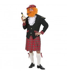 Schotse Man Highlander Kilt Kostuum