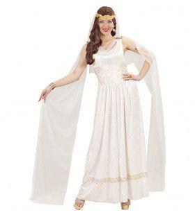 Elegante Romeinse Keizer & Keizerin Kostuum Vrouw