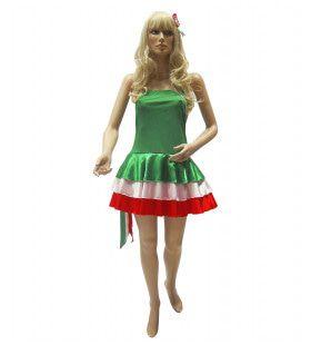 Nations Line Miss Italie Vrouw Kostuum