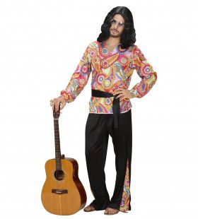 Hippie Dude Kostuum Man