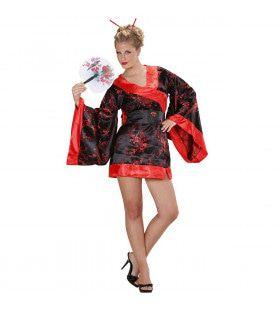 Verleidelijke Madame Butterfly Kostuum Vrouw