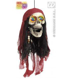 Piratenschedel Met Kleurenlicht 60cm