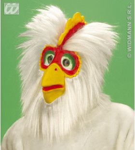 Masker Kip Met Haar