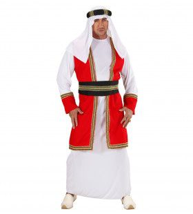 Arabische Prins Burning Sun Kostuum Man