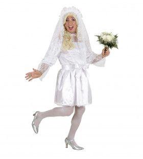 Mannelijke Bruid XL Vrijgezelle Bachelor Kostuum