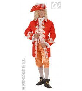Hofheer Frankrijk 18e Eeuw Zonnekoning Kostuum Man