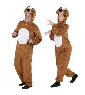 Plushe Hond Goofy Volwassen Kostuum