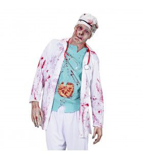 Zombie Dokter Zombie Chirurg Volwassen Kostuum Man