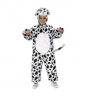 Full-Body Pluche Dalmatier Kind Kostuum Kind