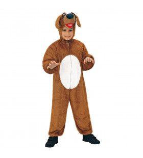 Full-Body Pluche Hond Kind Kostuum