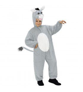 Full-Body Pluche Ezel Kind Kostuum