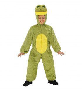 Full-Body Pluche Kikker Kind Kostuum