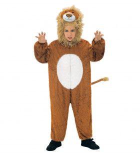 Full-Body Pluche Leeuw Kind Kostuum