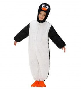 Full-Body Pluche Pinguin Kind Kostuum