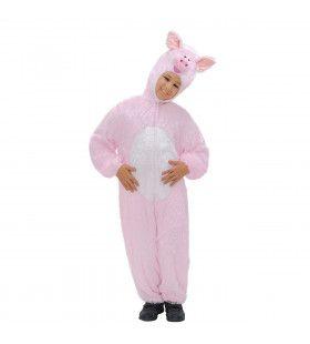 Full-Body Pluche Varken Kind Kostuum