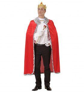 Monsieur Royal Koningsmantel Met Kroon