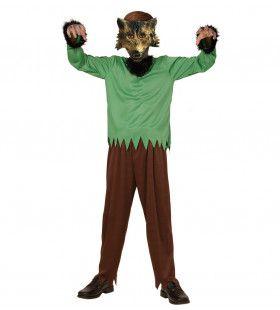 Funky Weerwolf Jongen Kostuum