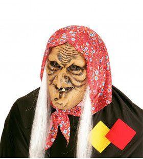 Gemene Masker Heks Met Haar