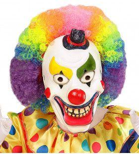 Horror Kindermasker Clown Foam